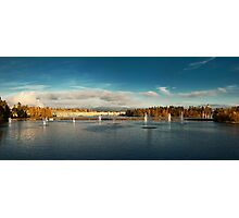 Oulu panorama Photographic Print