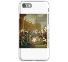 Jacques Louis David - The Army Takes an Oath to the Emperor after the Distribution of Eagles iPhone Case/Skin