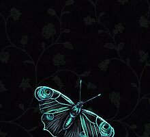 Butterfly blue by Dominika Aniola