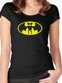 Zubat Pokemon Batman Women's Fitted Scoop T-Shirt