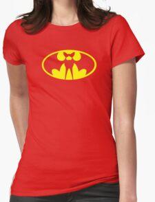 Zubat Pokemon Batman Womens Fitted T-Shirt