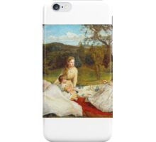 James Archer - The Picnic  iPhone Case/Skin