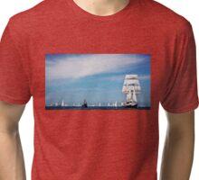 Flotylla Tri-blend T-Shirt