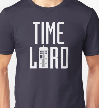 Time Lord - Doctor Who Unisex T-Shirt