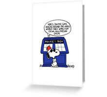 Doctor Cool Greeting Card