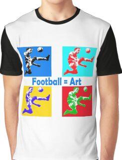 Football = art Graphic T-Shirt