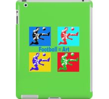 Football = art iPad Case/Skin