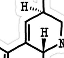 LSD - Molecular Structure Sticker