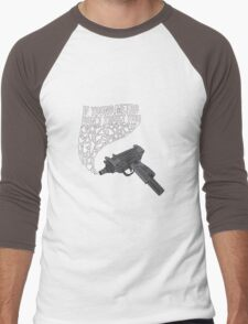 If Young Metro Don't Trust You Men's Baseball ¾ T-Shirt