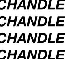 1-800-chandlerbing (black) Sticker