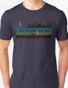 Punch Out Night Scene Unisex T-Shirt