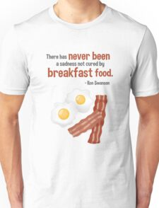 Parks & Recreation // Breakfast Food // Ron Swanson Quotable Unisex T-Shirt