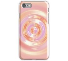 Peach Ripple iPhone Case/Skin