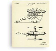 Machine Gun-1865 Canvas Print