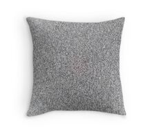Black and White sprinkles. Throw Pillow