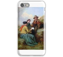 James John Hill - The Music Lesson iPhone Case/Skin