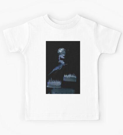 0046 - Brush and Ink - The Bones Between Kids Tee