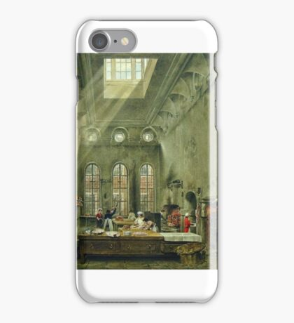James Stephanoff - St James's Palace, the Kitchen iPhone Case/Skin