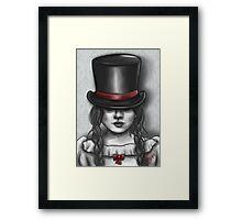 Victorian Girl Framed Print