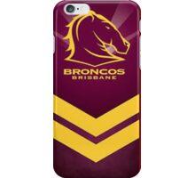 NRL BRONCOS BRISBANE iPhone Case/Skin