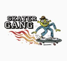 Skater Gang by Theo Kerp