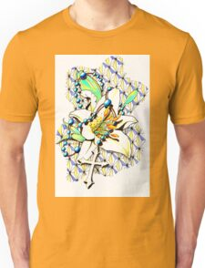 White Lily and The Cross Unisex T-Shirt