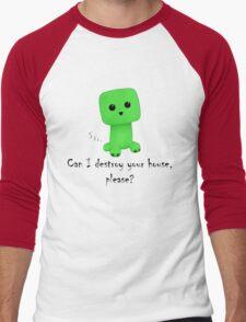 So cute! Men's Baseball ¾ T-Shirt