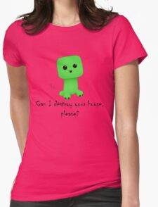 So cute! Womens Fitted T-Shirt