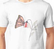 Monarch garden 002 Unisex T-Shirt