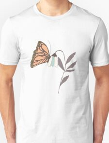 Monarch garden 004 Unisex T-Shirt