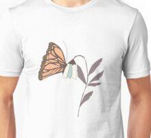 Monarch garden 004 Unisex T-Shirt