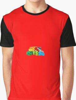 Lego Stones/Blocks Graphic T-Shirt