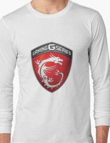 MSI Gaming Logo Long Sleeve T-Shirt