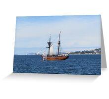 Enterprize, Australian Wooden Boat Festival Greeting Card