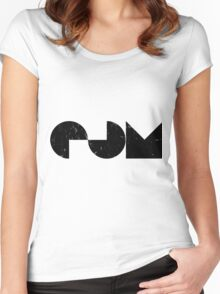 EDM - Electronic Dance Music Women's Fitted Scoop T-Shirt