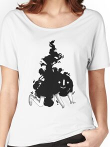 INK DROP Women's Relaxed Fit T-Shirt