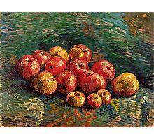 1887-Vincent van Gogh-Apples-46x61,5 Photographic Print