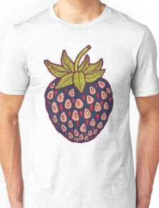dark strawberries Unisex T-Shirt