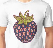 dark strawberries Unisex T-Shirt