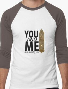 You And Me But Mostly Me- Book Of Mormon Men's Baseball ¾ T-Shirt