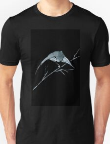 0033 - Brush and Ink - Bird Watcher Unisex T-Shirt