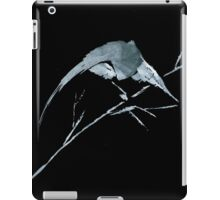 0033 - Brush and Ink - Bird Watcher iPad Case/Skin
