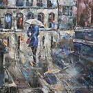 The Lady in Blue by Stefano Popovski