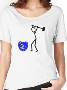 ukip Bash the EU Women's Relaxed Fit T-Shirt