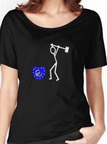 Bash the EU ukip Women's Relaxed Fit T-Shirt