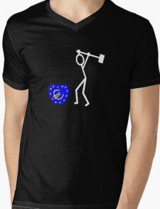 Bash the EU ukip Mens V-Neck T-Shirt