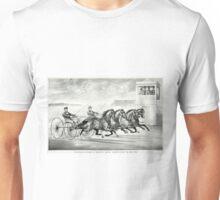 Ethan Allen & Mate and Lantern & Mate - 1859 - Currier & Ives Unisex T-Shirt
