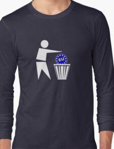 Put the EU in the bin ukip Long Sleeve T-Shirt