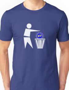 Put the EU in the bin ukip Unisex T-Shirt