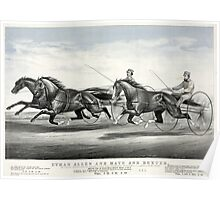 Ethan Allen and Mate and Dexter - 1867 - Currier & Ives Poster